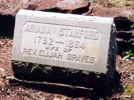 STANFORD GRAVES, ARIANA - DeWitt County, Texas | ARIANA STANFORD GRAVES - Texas Gravestone Photos