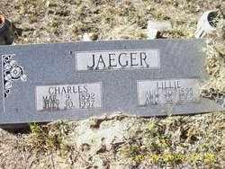 JAEGER, LILLIE - DeWitt County, Texas | LILLIE JAEGER - Texas Gravestone Photos