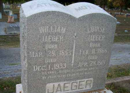 "JAEGER, LOUISA ""LUCY"" - DeWitt County, Texas 