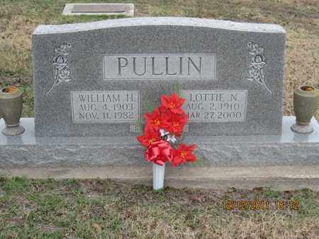 PULLIN, WILLIAM - DeWitt County, Texas | WILLIAM PULLIN - Texas Gravestone Photos
