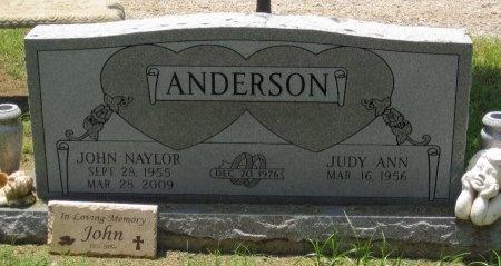 ANDERSON, JOHN NAYLOR - Denton County, Texas   JOHN NAYLOR ANDERSON - Texas Gravestone Photos