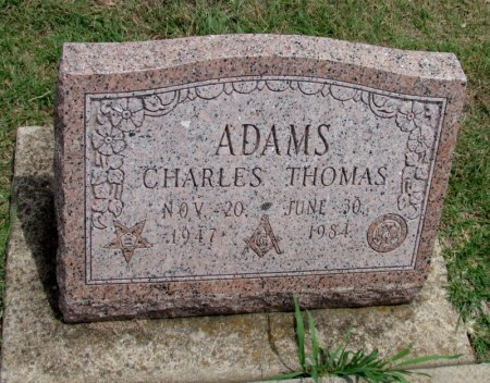 ADAMS, CHARLES THOMAS - Denton County, Texas   CHARLES THOMAS ADAMS - Texas Gravestone Photos