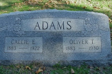 ADAMS, CALLIE E. - Denton County, Texas | CALLIE E. ADAMS - Texas Gravestone Photos
