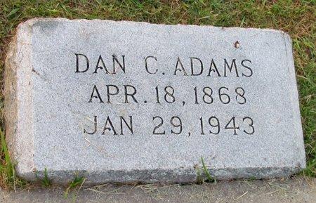 ADAMS, DAN C. - Denton County, Texas | DAN C. ADAMS - Texas Gravestone Photos