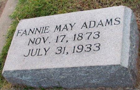 ADAMS, FANNIE MAY - Denton County, Texas | FANNIE MAY ADAMS - Texas Gravestone Photos
