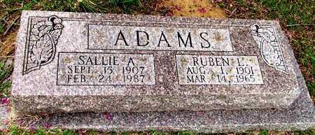 ADAMS, SALLIE A. - Denton County, Texas | SALLIE A. ADAMS - Texas Gravestone Photos