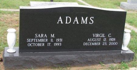 ADAMS, VIRGIL C. - Denton County, Texas   VIRGIL C. ADAMS - Texas Gravestone Photos