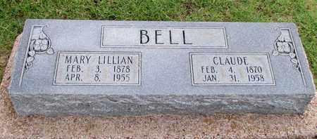 BELL, CLAUDE - Denton County, Texas | CLAUDE BELL - Texas Gravestone Photos