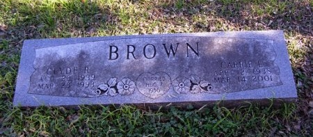 BROWN BROWN, CARRIE L. - Denton County, Texas | CARRIE L. BROWN BROWN - Texas Gravestone Photos