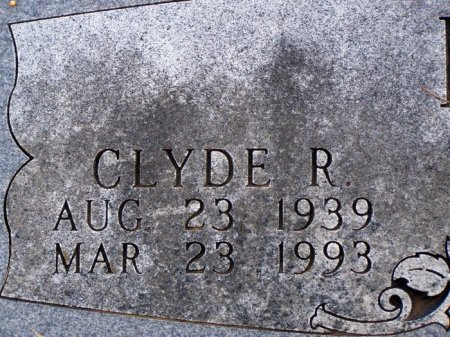 BROWN, CLYDE R. (CLOSE UP) - Denton County, Texas | CLYDE R. (CLOSE UP) BROWN - Texas Gravestone Photos