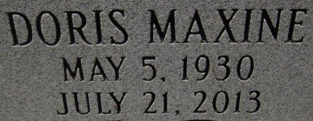 CALVERT, DORIS MAXINE (CLOSE UP) - Denton County, Texas | DORIS MAXINE (CLOSE UP) CALVERT - Texas Gravestone Photos