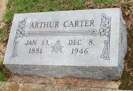 CARTER, ARTHUR - Denton County, Texas | ARTHUR CARTER - Texas Gravestone Photos
