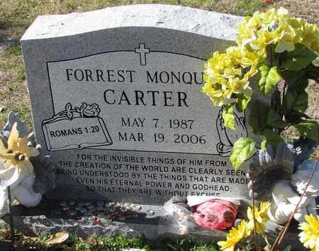 CARTER, FORREST MONQUE - Denton County, Texas   FORREST MONQUE CARTER - Texas Gravestone Photos