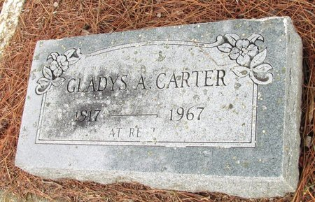 CARTER, GLADYS A. - Denton County, Texas | GLADYS A. CARTER - Texas Gravestone Photos