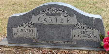 CARTER, LORENE - Denton County, Texas | LORENE CARTER - Texas Gravestone Photos