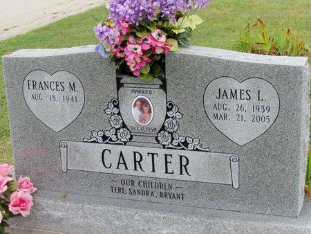 CARTER, JAMES L. - Denton County, Texas   JAMES L. CARTER - Texas Gravestone Photos