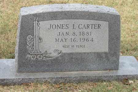 CARTER, JONES I. - Denton County, Texas | JONES I. CARTER - Texas Gravestone Photos