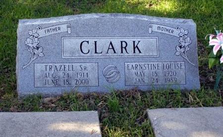 MCCARTY CLARK, EARNSTINE LOUISE - Denton County, Texas | EARNSTINE LOUISE MCCARTY CLARK - Texas Gravestone Photos