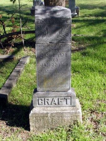 CRAFT, G. T. - Denton County, Texas | G. T. CRAFT - Texas Gravestone Photos