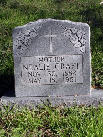 CRAFT, NEALIE - Denton County, Texas | NEALIE CRAFT - Texas Gravestone Photos