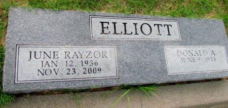 ELLIOTT, JUNE - Denton County, Texas | JUNE ELLIOTT - Texas Gravestone Photos
