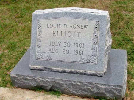 ELLIOTT, LOUIE D. AGNEW - Denton County, Texas | LOUIE D. AGNEW ELLIOTT - Texas Gravestone Photos