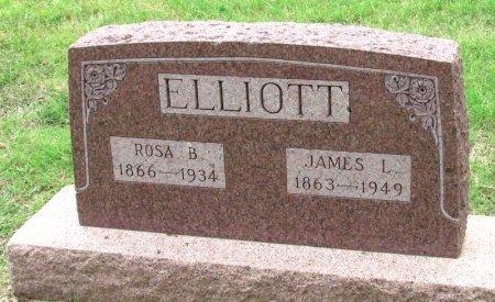 ELLIOTT, JAMES L. - Denton County, Texas | JAMES L. ELLIOTT - Texas Gravestone Photos