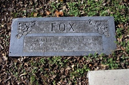 FOX, LEONA - Denton County, Texas | LEONA FOX - Texas Gravestone Photos