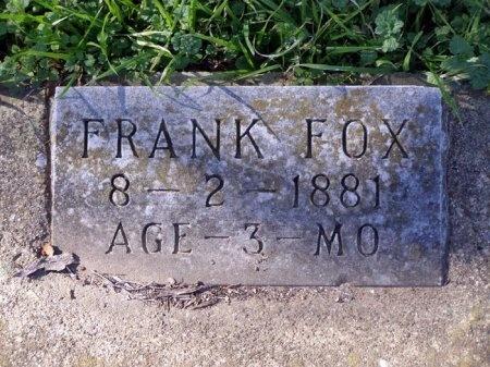FOX, FRANK - Denton County, Texas | FRANK FOX - Texas Gravestone Photos