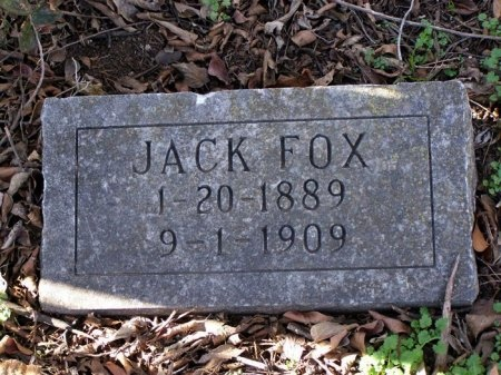 FOX, JACK - Denton County, Texas | JACK FOX - Texas Gravestone Photos