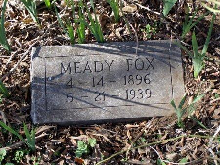 FOX, MEADY - Denton County, Texas | MEADY FOX - Texas Gravestone Photos