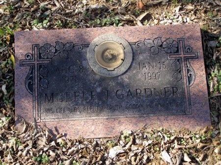 GARDNER, MULELE J. - Denton County, Texas | MULELE J. GARDNER - Texas Gravestone Photos