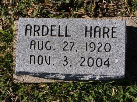 HARE, ARDELL - Denton County, Texas | ARDELL HARE - Texas Gravestone Photos