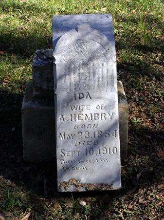 HEMBRY, IDA MAE - Denton County, Texas   IDA MAE HEMBRY - Texas Gravestone Photos