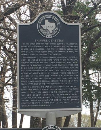 *HISTORICAL MARKER,  - Denton County, Texas |  *HISTORICAL MARKER - Texas Gravestone Photos