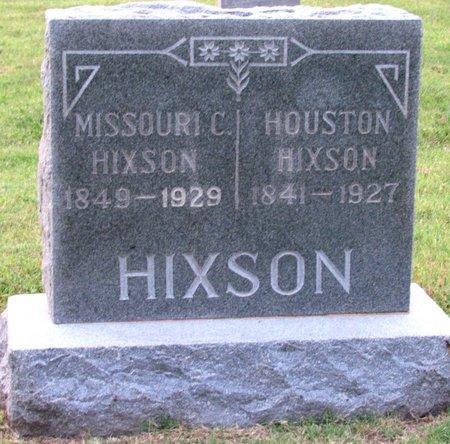 HIXSON, MISSOURI C. - Denton County, Texas   MISSOURI C. HIXSON - Texas Gravestone Photos