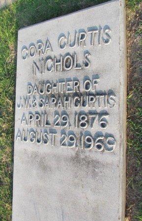 NICHOLS, CORA - Denton County, Texas | CORA NICHOLS - Texas Gravestone Photos