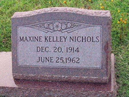 NICHOLS, MAXINE - Denton County, Texas | MAXINE NICHOLS - Texas Gravestone Photos