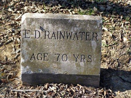 RAINWATER, E. D. - Denton County, Texas | E. D. RAINWATER - Texas Gravestone Photos