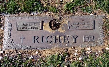 RICHEY, HATTIE L. - Denton County, Texas | HATTIE L. RICHEY - Texas Gravestone Photos