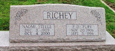 RICHEY, NAOMI - Denton County, Texas | NAOMI RICHEY - Texas Gravestone Photos