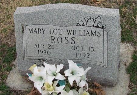ROSS, MARY LOU - Denton County, Texas | MARY LOU ROSS - Texas Gravestone Photos