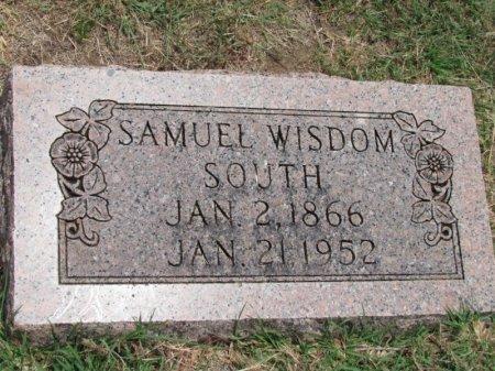 SOUTH, SAMUEL WISDOM - Denton County, Texas | SAMUEL WISDOM SOUTH - Texas Gravestone Photos