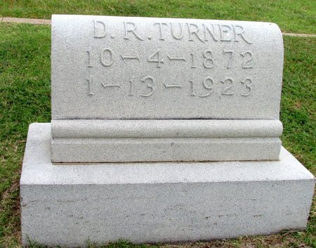 TURNER, D. R. - Denton County, Texas | D. R. TURNER - Texas Gravestone Photos