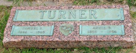 TURNER, SAMUEL R. - Denton County, Texas | SAMUEL R. TURNER - Texas Gravestone Photos