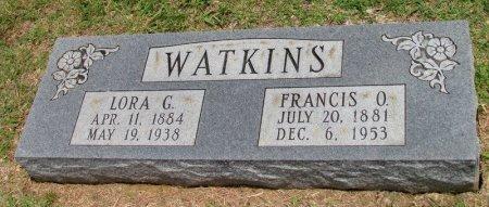 WATKINS, FRANCIS O. - Denton County, Texas | FRANCIS O. WATKINS - Texas Gravestone Photos
