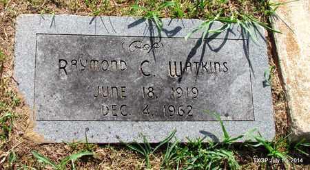 WATKINS, RAYMOND C. - Denton County, Texas | RAYMOND C. WATKINS - Texas Gravestone Photos
