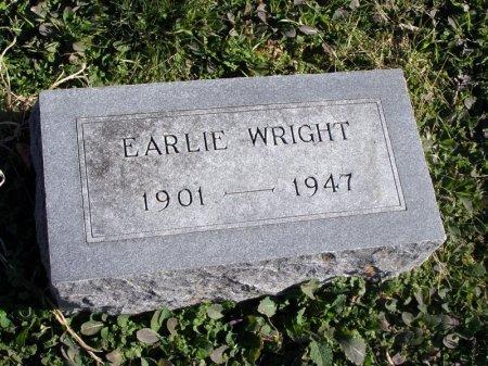 WRIGHT, EARLIE - Denton County, Texas | EARLIE WRIGHT - Texas Gravestone Photos