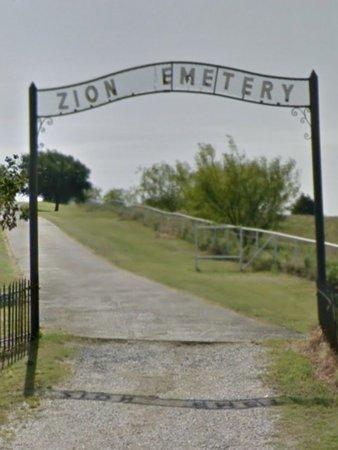 *ZION ENTRANCE,  - Denton County, Texas |  *ZION ENTRANCE - Texas Gravestone Photos