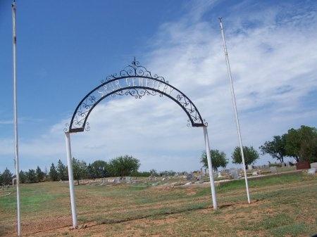 *SPUR ENTRANCE,  - Dickens County, Texas |  *SPUR ENTRANCE - Texas Gravestone Photos